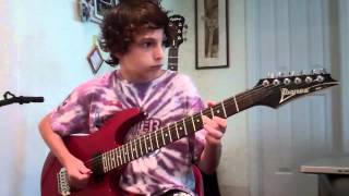 Reelin' in the Years | Guitar Cover | 12 Years Old