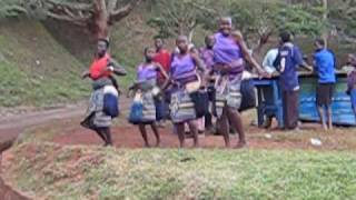 preview picture of video 'Ugandan Dance Source of the Nile Jinja Uganda'