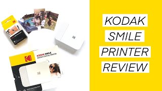 Kodak Smile Printer Review // Pros and Cons