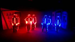 Dancing With LED Clothes