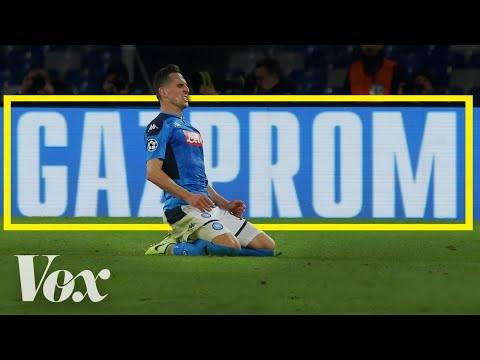 Proč Gazprom sponzoruje fotbalové kluby