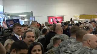 Troops At DFW Jan 11 2011