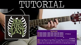 Cómo tocar Emily de From first to last (Tutorial de Guitarra) / How to play