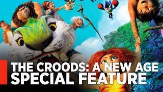 THE CROODS: A NEW AGE - Blu-ray Special Feature w/ Ryan Reynolds, Nicholas Cage, Emma Stone by MovieWeb