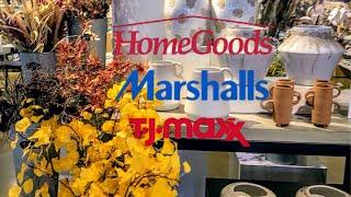 NEW HOMEGOODS, Marshall's, and TJMAXX HOME DECOR