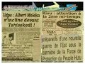 KINSHASA REVUE DE PRESSE DU 29 MAI 2014: Kivu, attention à la 2me mi-temps !