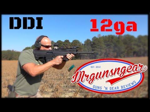 DDI 12ga Puma Bullpup Shotgun Based On The Chinese QBZ-95 Rifle (HD)