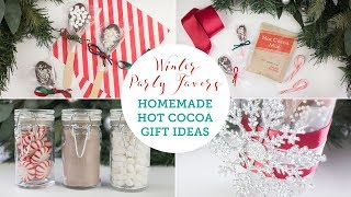 Homemade Hot Chocolate Christmas Gift Ideas | BalsaCircle.com