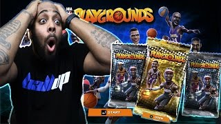 PULLING 3 LEGENDS IN 1ST EPIC PACK OPENING! NBA Playgrounds Gameplay Ep. 1