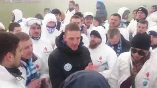 Тренер ФК Днепр Александр Поклонский после матча в Никополе