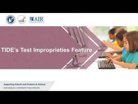 Handling ISAT Test Improprieties - YouTube