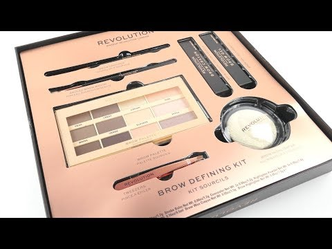 Makeup Revolution Makeup Revolution Brow Defining Kit
