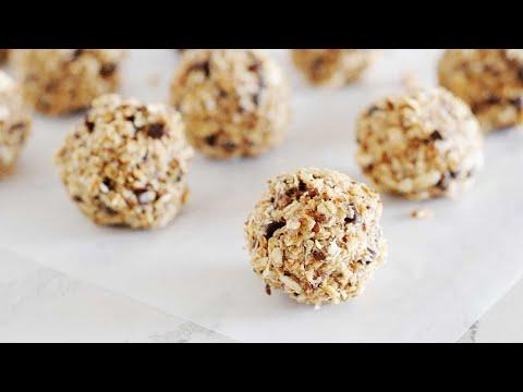 Video Healthy No Bake Oatmeal Energy Bites