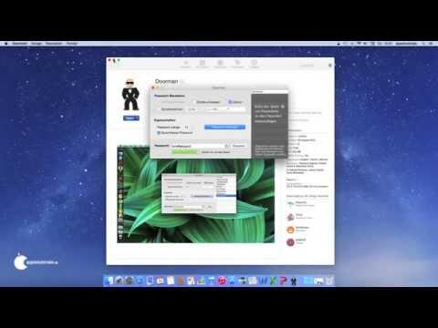 Sichere Passwörter unter Mac OS X - Die Software Doorman