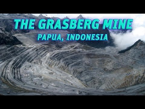 The Giant Holes: The Grasberg Mine(Freeport), Papua-Indonesia #Vendora