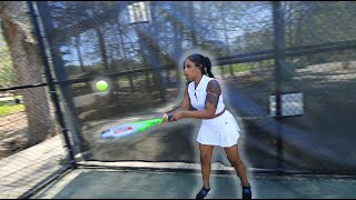 Trying Tennis For The First Time (didn't go well...)