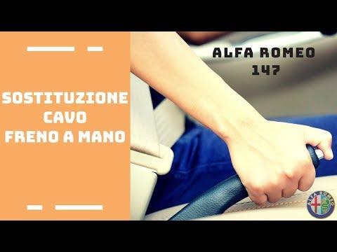Sostituzione cavi freno a mano Alfa Romeo 147 [Tutorial]