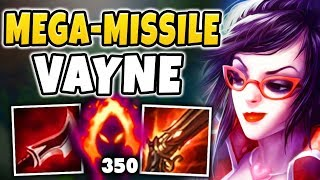 WTF! VAYNE CAN INSTANTLY NUKE ANYONE NOW?!? MASSIVE ONE-SHOT VAYNE BUILD!!! - League Of Legends