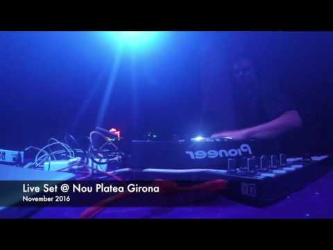 Jurek Live Set at Nou Platea Girona / November 2016