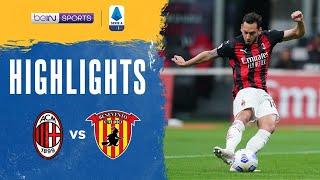 AC Milan 2-0 Benevento Pekan 34