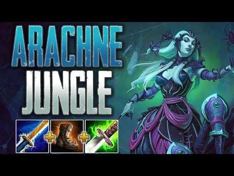 SMITE Conquest   Arachne Jungle - Big Arachne Ult Buff!