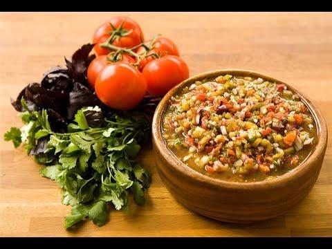 Хоровац   Армянский салат от Луча. Khorovats is the Armenian salad