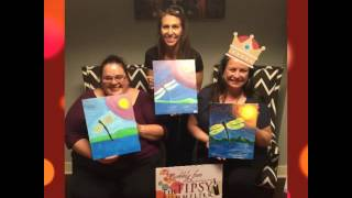 The One with the Crown had The Bubbliest Fun Time!