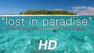Lost In Paradise: Hidden Fiji Islands Nature Relaxation Experience W/ Music 1080p HD