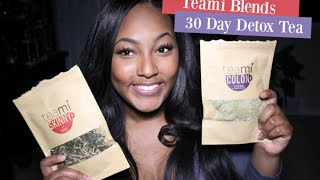 Teami Blends 30 Day Detox Review + Initial Gut Reaction (Literally)
