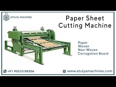 Paper Reel To Sheet Cutting Machine (Sheeter)