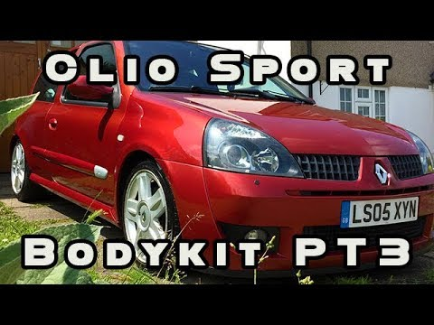 Download Body Kit Renault Clio Sport Video 3GP Mp4 FLV HD Mp3