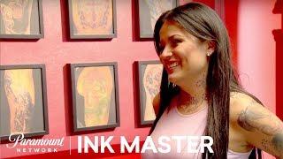 Tatu Babys Gorgeous Garter Tattoo - Ink Master: Redemption, Season 3
