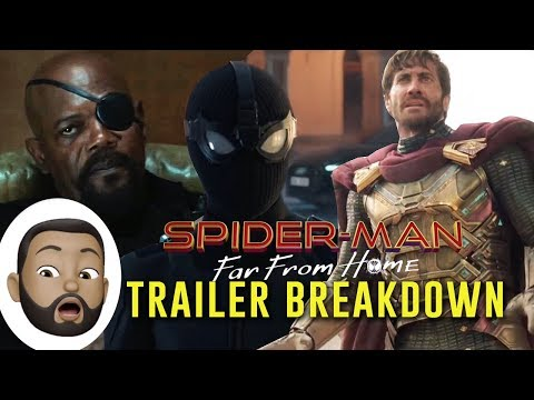 Trailer Breakdown - Spider-Man: Far From Home