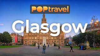 Walking In GLASGOW / Scotland (UK) - 4K 60fps (UHD)