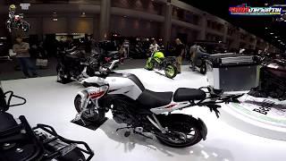 พาชมบูธ Beneli กับรถเปิดตัวใหม่ในงาน Motor Expo 2018