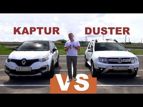Renault  Duster Паркетник класса J - тест-драйв 5