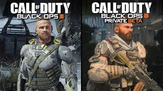 Call of Duty: Black Ops 3 vs Black Ops 4 (BETA) | Direct Comparison