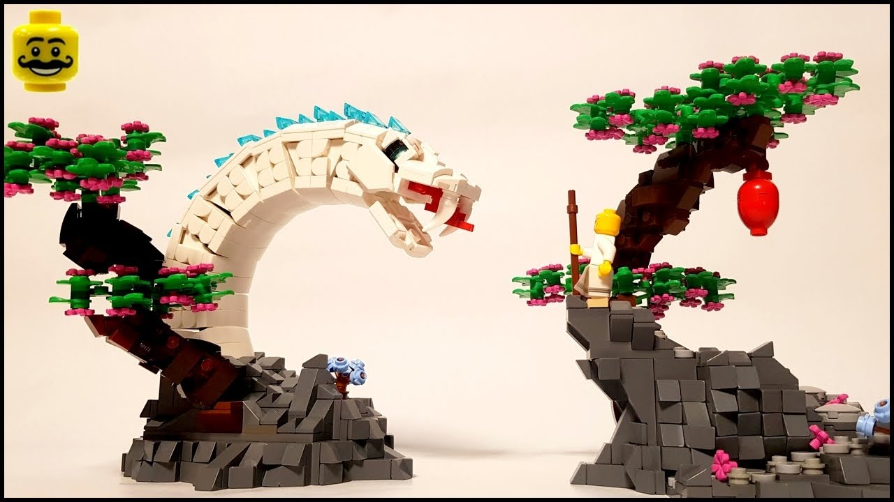 LEGO MOC The Legend of the White Snake