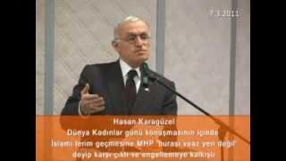 preview picture of video 'Dünya kadınlar günü konuşmasının içinde İslami terime MHPden tepki (7 Mart 2011)'