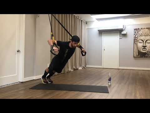 TRX at Home l 40-Minute Total-Body Workout - YouTube
