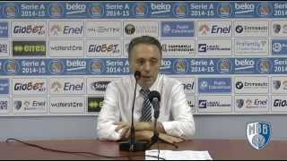preview picture of video 'Post-partita Brindisi - Pistoia'
