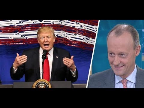 """Friedrich Merz: """"Trump macht das, was Sie jeden Tag machen"""""""