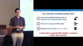 Accelerating Machine Learning with Training Data Management