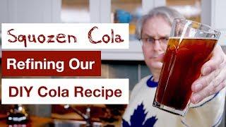 Making Squozen Cola Recipe || Glen & Friends Cooking