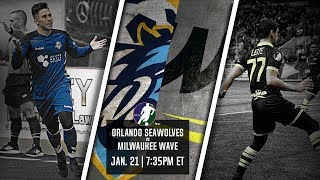 Orlando SeaWolves vs Milwaukee Wave