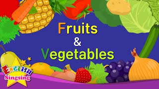Kids vocabulary - Fruits & Vegetables 1 - Learn English for kids - English educational video