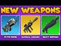 NEW LEGENDARY WEAPONS: Fortnite Battle Royale NEW Weapons