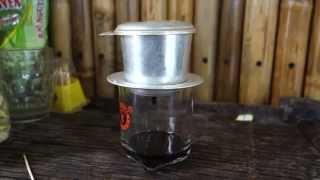 Vietnamese coffee // Recipe from a street restaurant in Vietnam // Ca phe