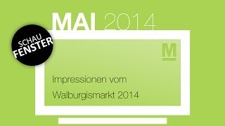 preview picture of video 'Walburgismarkt 2014'