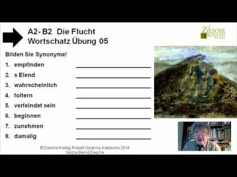 B2 Die Flucht Übung 05 Wortschatz Synonyme